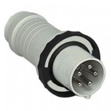 Fiche mobile industrielle-droite-125A-3P+N+T-480..500V CA-IP 67