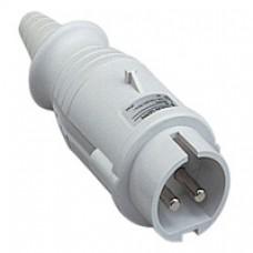 Fiche mobile industrielle-droite-32A-2P-40..50V CA-IP 44