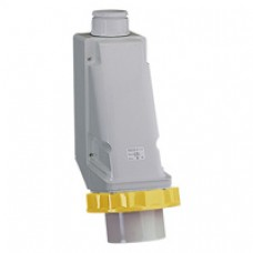 Socle de connecteur industriel-63A-3P+T-100..130V CA-IP 67