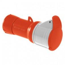 Prise mobile industrielle-32A-2P+T-380..415V CA-IP 44