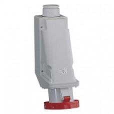 Socle de prise industrielle-125A-3P+T-380..415 VCA-IP 67