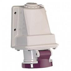 Socle de prise industrielle-32A-3P-20..25V CA-IP 44
