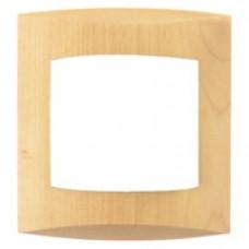 Plaque érable simple Bois
