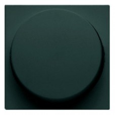 Façade variateur poussoir + rotatif anthracite