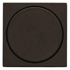 Façade variateur à impulsion satin graphite