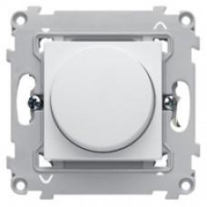 Variateur interrupteur rotatif 300 W blanc