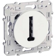 Conjoncteur en T blanc 8 contacts à vis