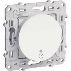 Interrupteur temporisé blanc 1840 W/VA griffes non montées