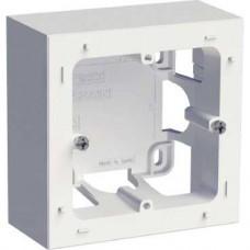 Boîte pour montage en saillie blanc 1 poste