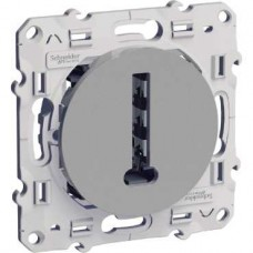 Conjoncteur en T aluminium 8 contacts à vis