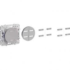 Emetteur RF aluminium 2 ou 4 boutons (scénario éclairage + volets-roulants)
