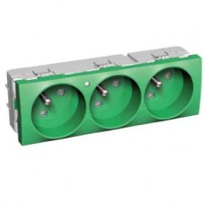 Bloc triple 2P avec T vert