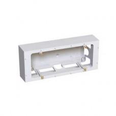 Boîte pour montage en saillie 3 postes profondeur 40 mm