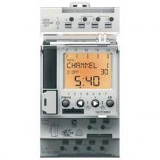 Interrupteur horaire digital IHP 2c 24 h et ou 7 jours 2 OF rétro-éclaré
