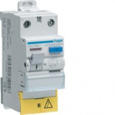 Interrupteur différentiel 1P+N 25A 300mA AC BD