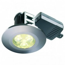 Spot Led dimmable Down Light 60 Deg 4000K ip65 collerette carré