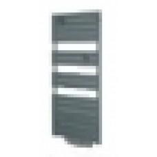 Radiateur sèche-serviettes Adélis integral ventilo graphite 1750W