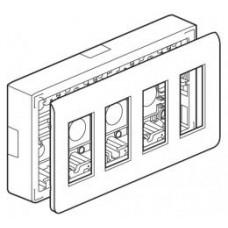 Kit poste de travail en saillie - Programme Mosaic - pour 4x4 modules