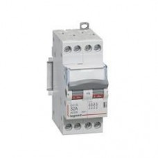 Interrupteur-sectionneur de tête DX³-IS - vis/vis - 4P - 400 V~ - 20 A - 2 m