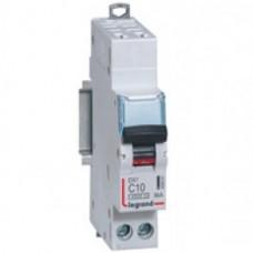 Disjoncteur DX³ 4500 - auto/vis - U+N 230V~ 20A - 6kA - courbe C - départ