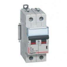 Disjoncteur DX³ 6000 -vis/vis- 2P-230/400V~ -63A-10kA - courbe C - protect départ Legrand