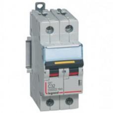 Disjoncteur DX³ 10000-vis/vis-2P-230/400V~-63A-16kA-courbe C-protect départ Legrand