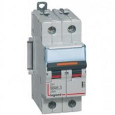 Disjoncteur DX³ MA-vis/vis-2P-230/400V~-10A-25kA-magnétique seul-protect départ Legrand