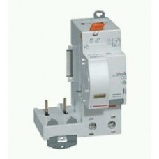 Bloc différentiel adaptateur DX³-vis-2P-230/400 V~-40 A-type AC-300 mA-disjoncteur 1 mod/pôle