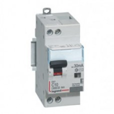 Disjoncteur différentiel DX³ 4500-vis/vis-U+N 230V~ 32A-typeAC-30mA-6kA-courbe C-départ Legrand