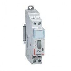 Télérupteur standard à vis 230 V~- 1P - 250 V~ - 16 A - 1F - 1 mod