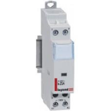 Contacteur de puissance bobine 230 V~ - 2P - 250 V~ - 25 A - 2 O - 1 mod