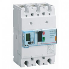 Disjoncteur puissance DPX³ 250 - électronique à unité de mesure - 25 kA - 3P - 100 A Legrand