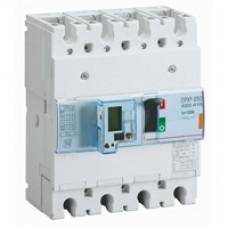Disjoncteur puissance DPX³ 250 - électronique à unité de mesure - 25 kA - 4P - 100 A Legrand