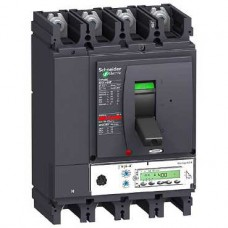Disjoncteur compact NSX400H Micrologic 5.3 A 400A 4P 4D