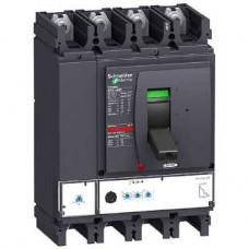 Disjoncteur compact NSX400H Micrologic 2.3 250A 4P 4D