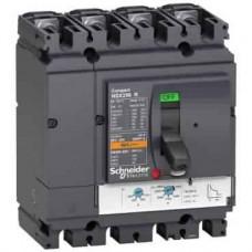 Disjoncteur NSX250R - TMD - 250 A - 4 P 4d