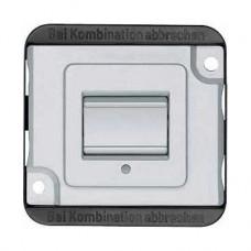 Interrupteur lumineux 10A 250 VCA avec enjoliveur