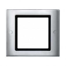 Plaques de finition standard 1 poste aluminium