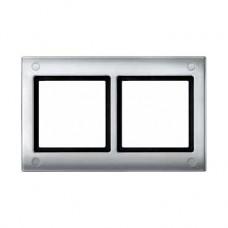 Plaques de finition standard 2 postes aluminium