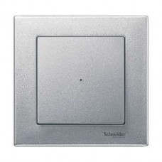Plaque simple blanc brillant