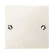 Plaque obturateur blanc