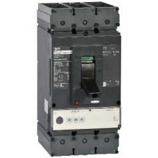 Disjoncteur 600A - sans bornes - 65kA Micrologic 3.3 400A 3P 3d