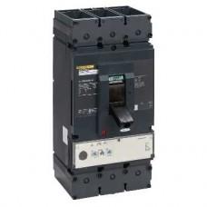 Disjoncteur 600A - avec bornes - 65kA Micrologic 2.2 M 600A 3P 3d