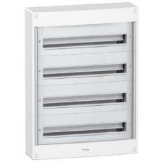 Coffret en saillie-4 x 24 modules-160A-sans porte