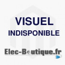 Platine réglable XL3 4000 - DPX 630 extractible/débrochable - horizontal
