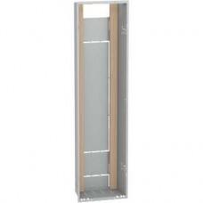 Bac d'encastrement 1x13 modules - hauteur utile 1105 mm