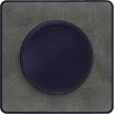Plaque Ardoise avec liseré Anthracite 1 poste