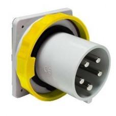 Socle de connecteur à encastrer 125A 3PNT 100-130V IP67 50-60HZ