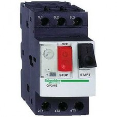 Disjoncteur moteur GV2-ME - 0,1..0,16 A - 3P 3d - déclencheur magnéto-thermique