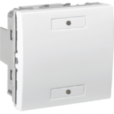 Poussoir simple KNX, Blanc
